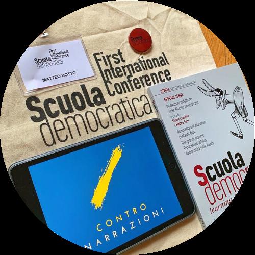 """ControNarrazioni viene presentato al convegno internazionale """"Education and Post-Democracy"""" dell'Università di Cagliari."""